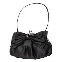 Сумка міні сатинова чорна сумочка з бантом Gymboree Оригінал(США)