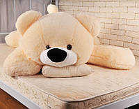 """Большой мягкий медведь """"Умка"""" 180 см.(персиковый)"""