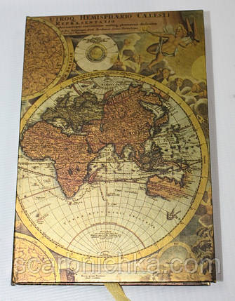 "Блокнот JO 80стр. ""Карта"" HDU080 (10*14)     139211, фото 2"