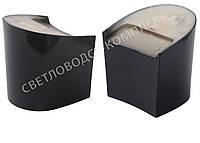 """Каблук женский """"Kadir"""", 6.0 см, черный лак, 37-38р"""