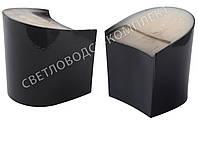 """Каблук женский """"Kadir"""", 6.3 см, черный лак, 39-40р, фото 1"""