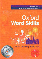 Книга Oxford Word Skills Intermediate with answer key and CD-ROM