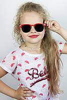 Солнцезащитные детские очки Дженна красные