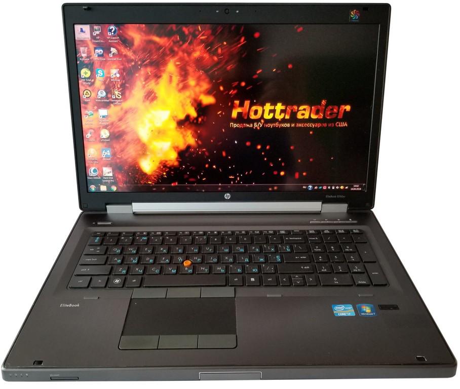 Ноутбук HP EliteBook 8760W 17