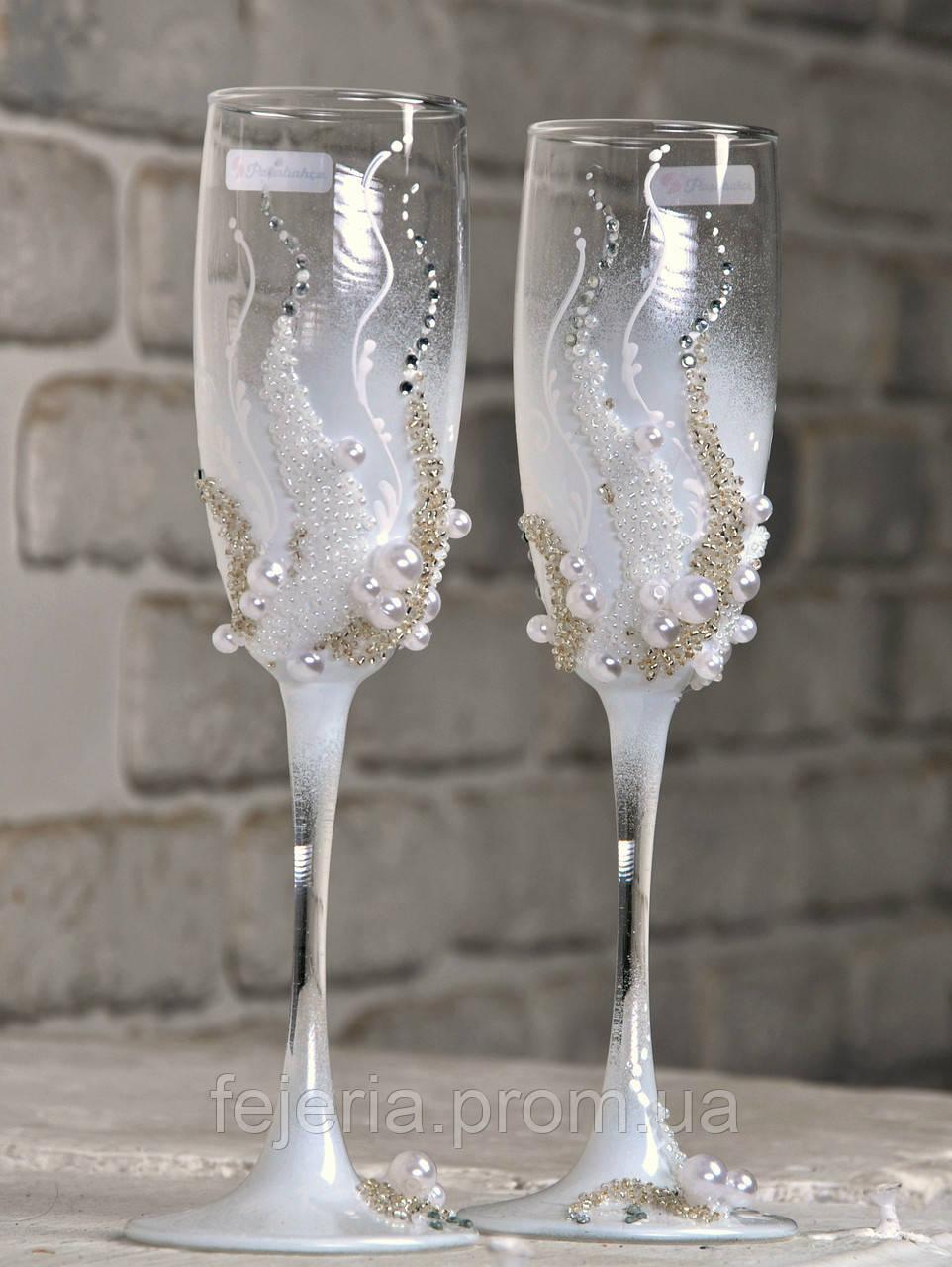Бокалы свадебные Воздух