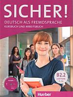 Sicher! B2.2 Kursbuch und Arbeitsbuch mit Audio-CD zum Arbeitsbuch Lektion 7–12 (Учебник и рабочая тетрадь)