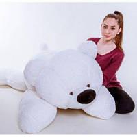 """Большой мягкий медведь """"Умка"""" 180 см.(белый)"""