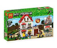 Конструктор Lele 33077 Майнкрафт Minecraft 3 в 1 Элитный дом 738 дет, фото 1