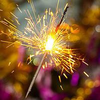 Бенгальские огни 70 см, 5 шт/уп, бенгальські вогні, фото 1