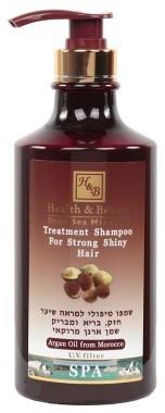 Лечебный шампунь с аргановым маслом Health & Beauty (780мл.)