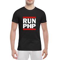 GlobusPioner Мужская футболка RUN PHP 74903