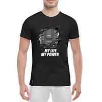 GlobusPioner Мужская футболка Toyota engine 74769