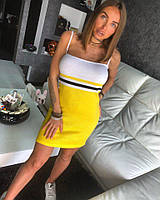 Красивое яркое солнечное платье на лето , фото 1