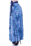 Юбка в пол длинная Турция штапель жатка цвета в ассортименте , фото 1