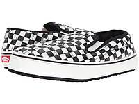 Тапочки (Оригинал) Vans Slip-Er (Checkerboard) Marshmallow 1
