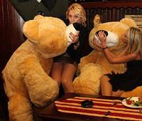 """Большой мягкий медведь """"Умка"""" 180 см.(медовый)"""