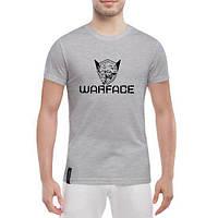 GlobusPioner Мужская футболка Warface SKULL LOGO 71532 , фото 1