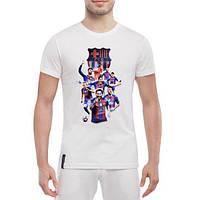 GlobusPioner Мужская футболка Barselona space 71398