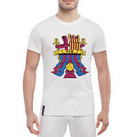 GlobusPioner Мужская футболка Barselona ribbon 71397