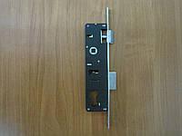 Замок для аллюминиевых дверей 24 мм нажимной 25*85 мм