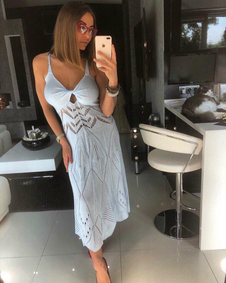 Безумно женственное платье