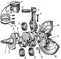 Детали двигателя автомобиля