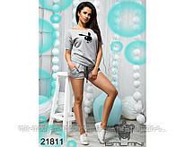 Спортивный костюм с шортами - 21811 (бн)