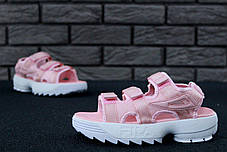 FILA Disruptor Sandals rose, Сандали Фила. ТОП Реплика ААА класса., фото 3