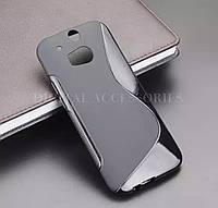 Чехол S-line TPU для HTC One M8 силикон на телефоны НТС силиконовий защита ТПУ