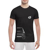 GlobusPioner Мужская футболка Volvo XC90 back 70367