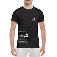 GlobusPioner Мужская футболка Volvo V90 back 70364