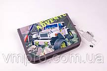 """Пенал школьный """"J.O."""" №-18156 """"Military jeep"""", 1 отдел, 1 отворот, расписание, пеналы для школы"""