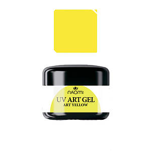 Art-гель Naomi UV Art gel YELLOW
