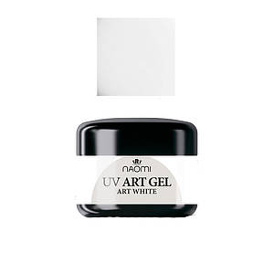 Art-гель Naomi UV Art gel WHITE