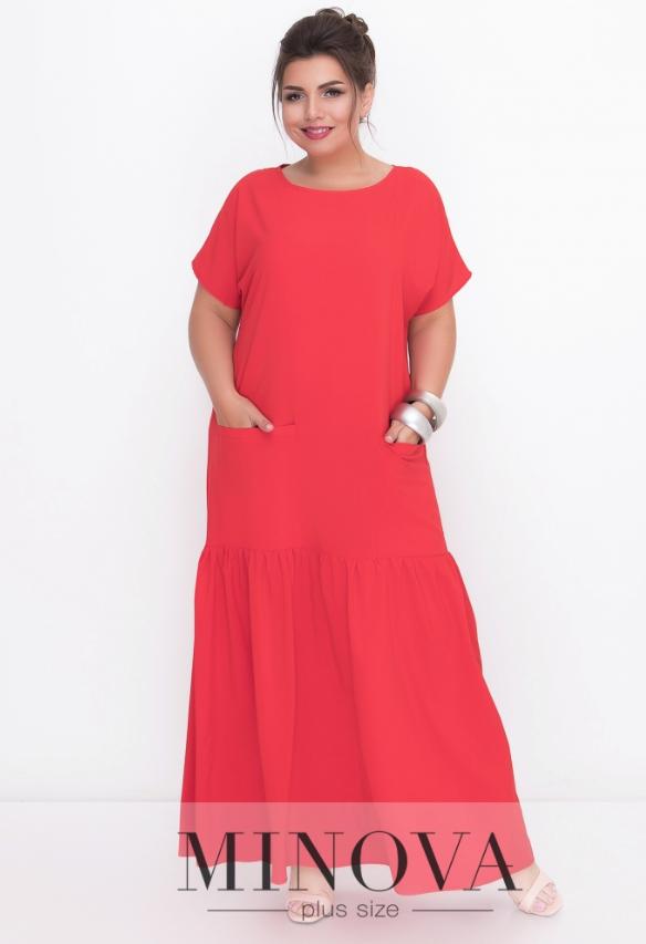 99fe7712d6e Красное длинное платье в пол макси недорого в Украине России  интернет-магазин ( р.