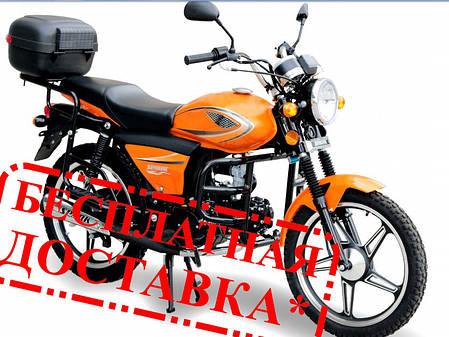 Мотоцикл SPARK SP125С-2X, 127 куб.см, двухместный дорожный БЕСПЛАТНАЯ ДОСТАВКА!, фото 2