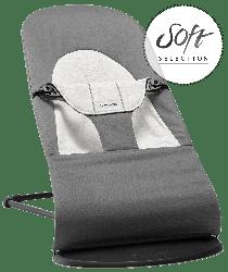 Кресло-шезлонг Babybjorn Balance Soft, темно-серый