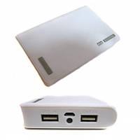 Портативное зарядное устройство PowerBank 20000mAh White