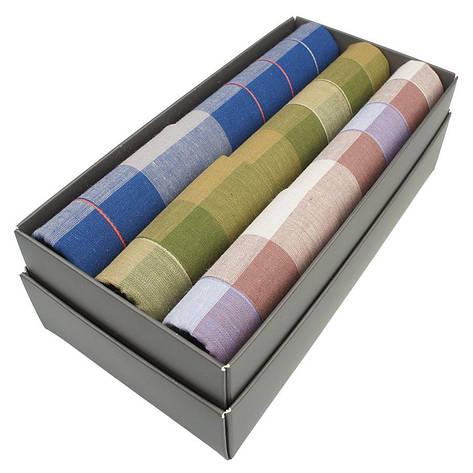 Набір носових хусткок в подарунковій упаковці Ega 3 шт CH-281С, фото 2