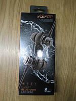 Bluetooth-гарнітура Aspor A615 Magnet (Bluetooth 4.1, A2DP) Black