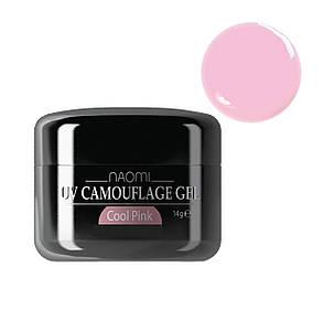 Камуфляжный гель Naomi UV TOP gel CAMOUFLAGE COOL PINK