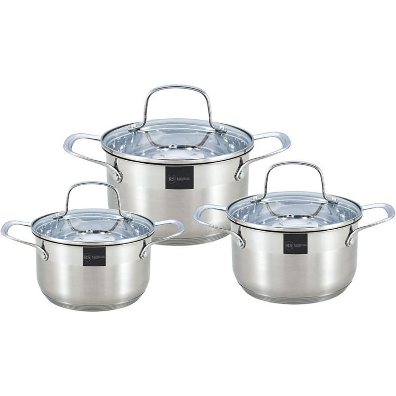 Набор посуды Rainstahl RS-1615-06 (6 предметов)