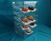 Витрина для пирожных 5-уровневая