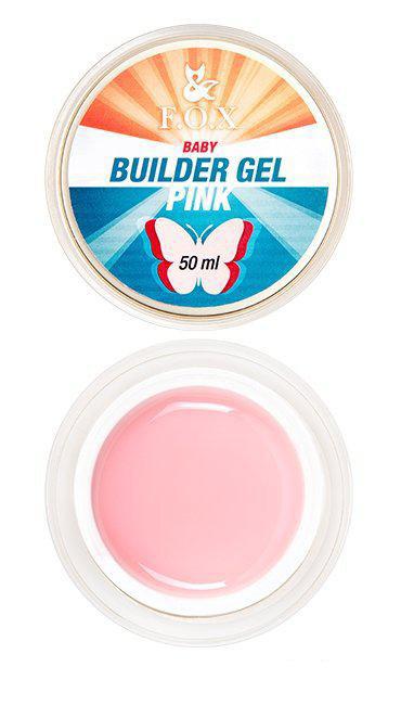 Моделирующий гель F.O.X Builder gel Pink baby 15 мл