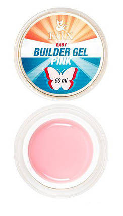Моделирующий гель F.O.X Builder gel Pink baby 15 мл, фото 2