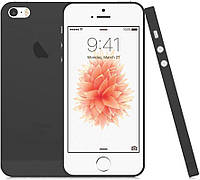 Чехол-накладка TOTO TPU case matte iPhone 5/5S/SE Black