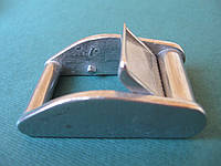 Нержавеющая пряжка с фиксатором, для строп 25 мм
