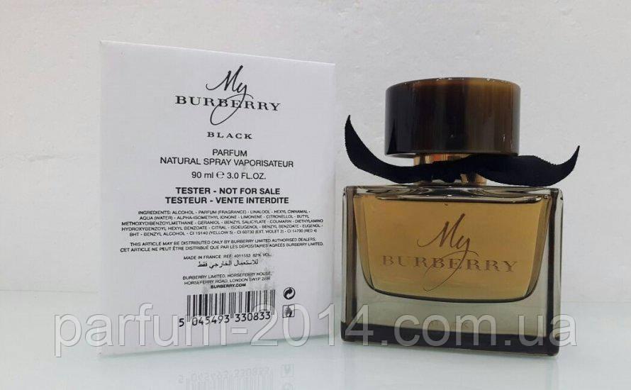 Женская парфюмированная вода Burberry My Burberry Black tester (реплика)