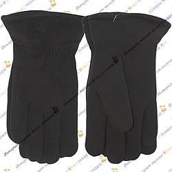 Мужские перчатки трикотаж+ мех