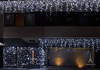 Светодиодная гирлянда сталактиты 3х0.7 м бахрома, шторка гирлянда на окно на дом.